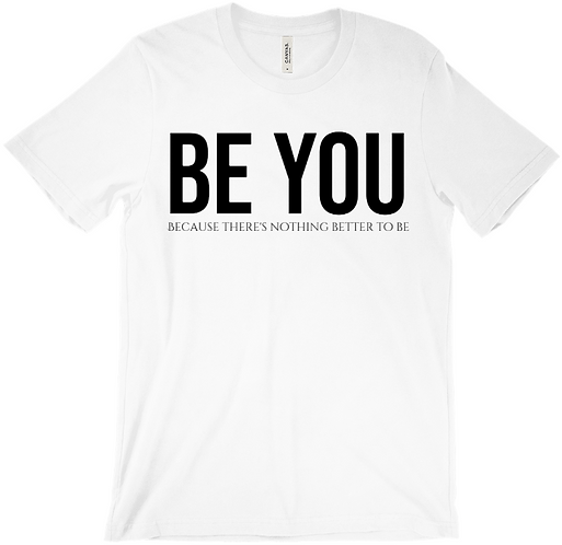 Be you  because....w/o finger