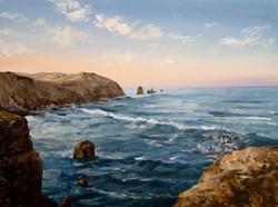 Soft Sunrise Seascape