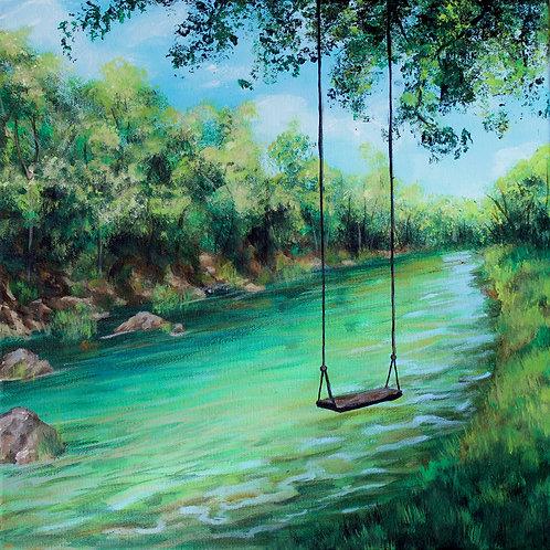 Jewel-toned River