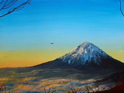 Fuji in the Afternoon