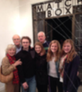 Myself and family at my solo galery show in Houston.