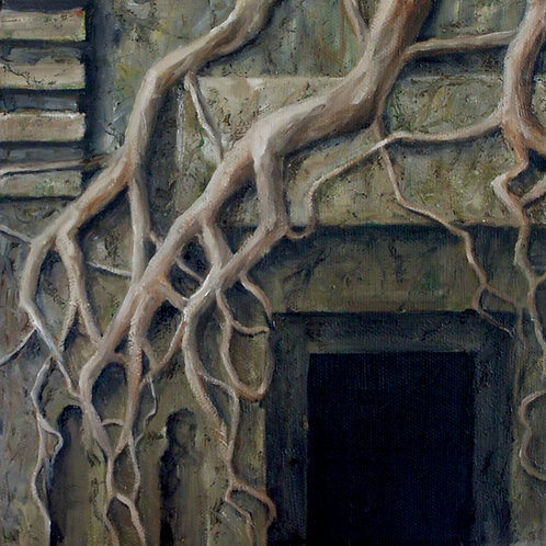 Door to Angkor Wat