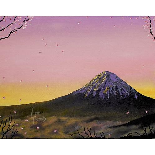 Fuji in Spring