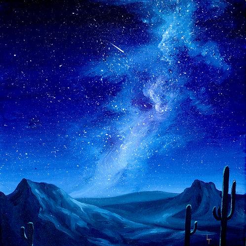 Cosmic Plume on the Mesa