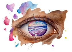 Eyes on Purple Shore