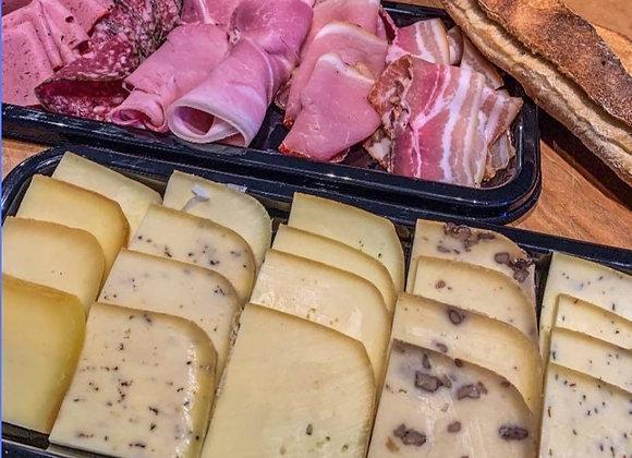 Plateau Raclette (fromage et charcuterie )