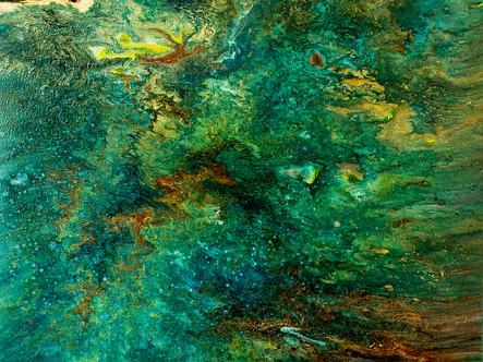 Emerald Diptych 1