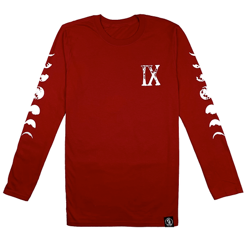 Red IX Long Sleeve