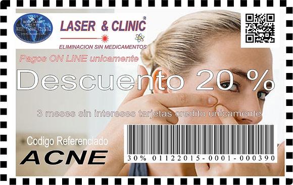 ACNE -20 % DESCUENTO Y MSI SIN INTERESES