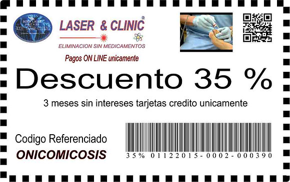 ONICOMICOSIS - 35 % DESCUENTO Y MSI SIN INTERESES