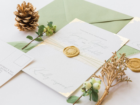 Winter wedding luxe