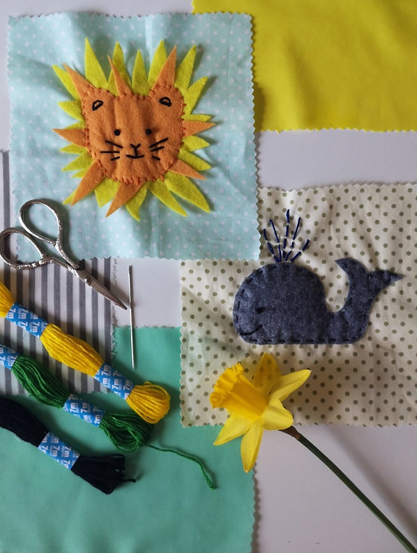 baby shower quilt making