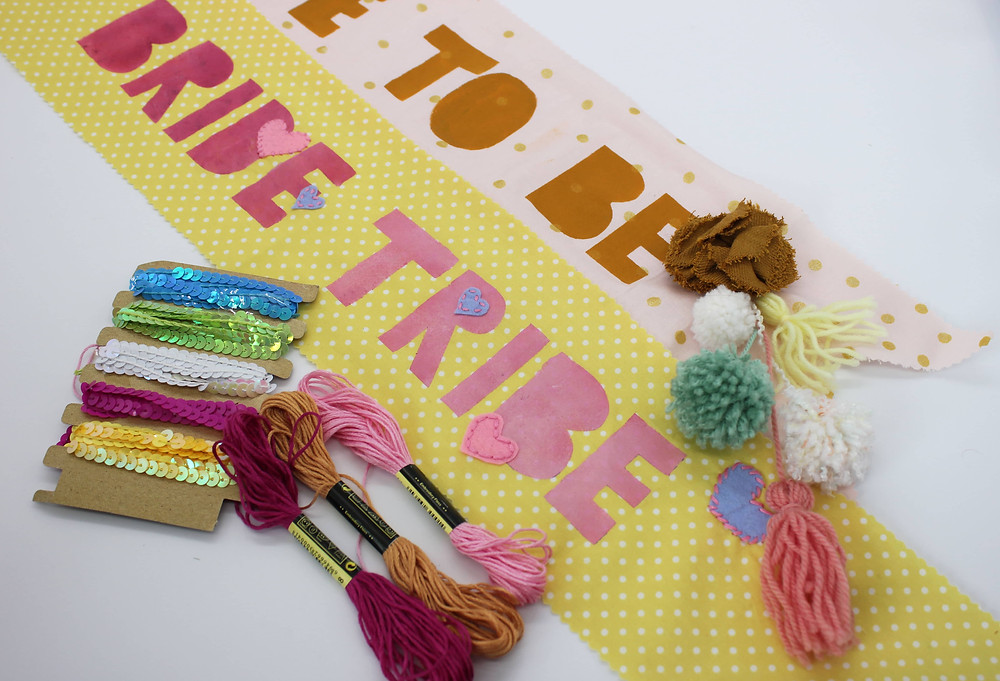 hen party sash diy hen party  | hunter gatherings |