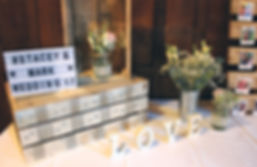 Wedding decoration and styling
