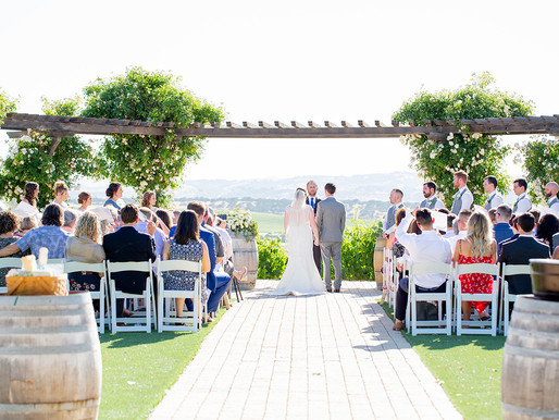 Mr. & Mrs. Timothy Alford | Pear Valley Vineyard Wedding | Paso Robles, Ca.