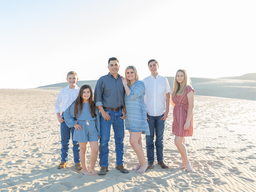 The Blended Tribe | Pismo Beach | Family Photography