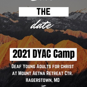 Save the Date! DYAC Camp Meeting 2021