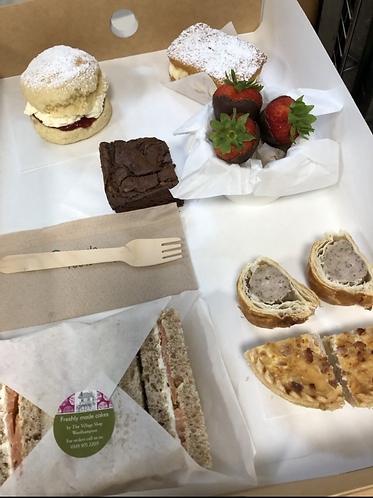 Afternoon Tea box for One