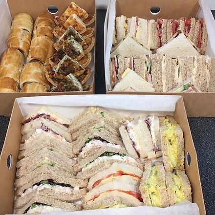 Delicious spread for office meeting 👍🏻