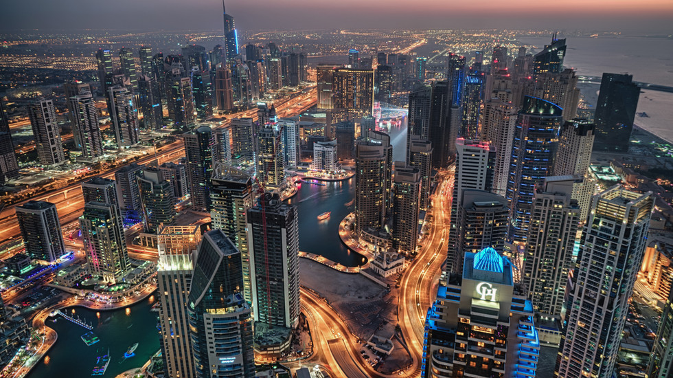 Dubai Marina Rooftops