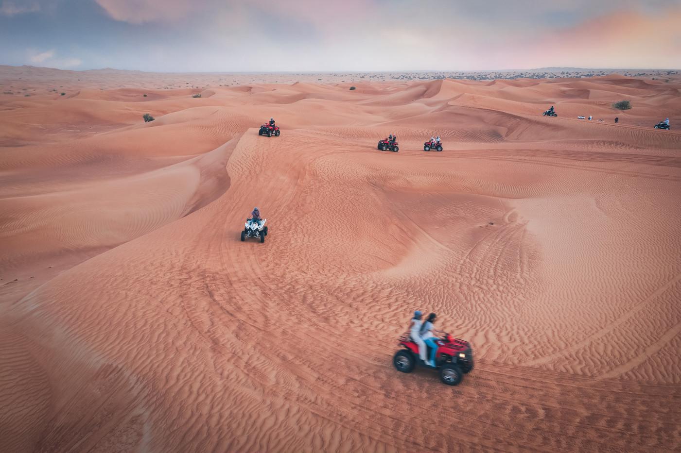 Dubai Desert Quads