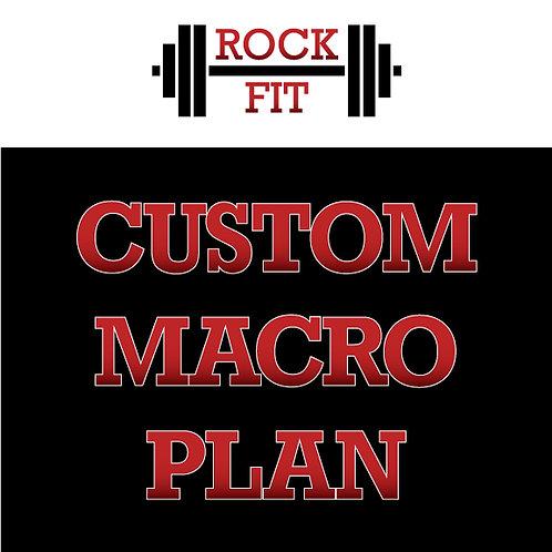 Custom Macro Plan