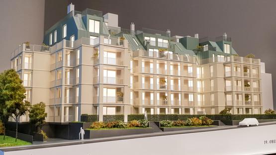Präsentationsmodell Modell fur WINEGG Immobilien von Scala Matta Modelbau Studio