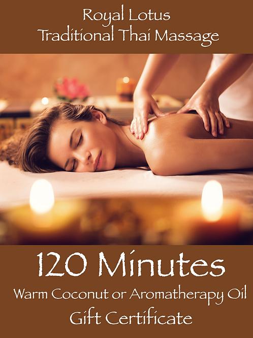 120 Min Indulgence Massage