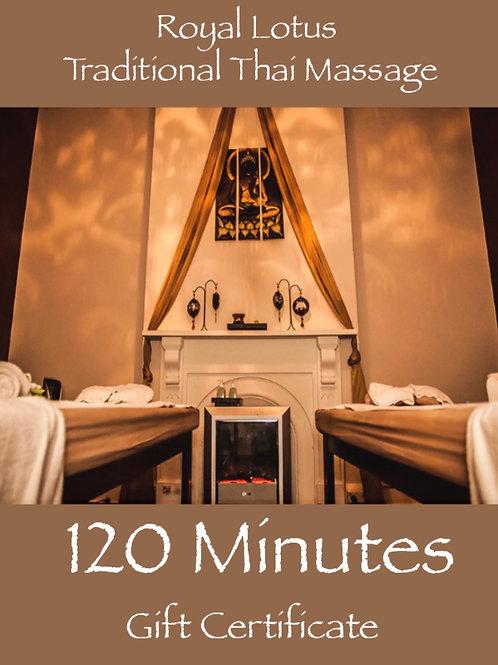 120 Min Premium Massage