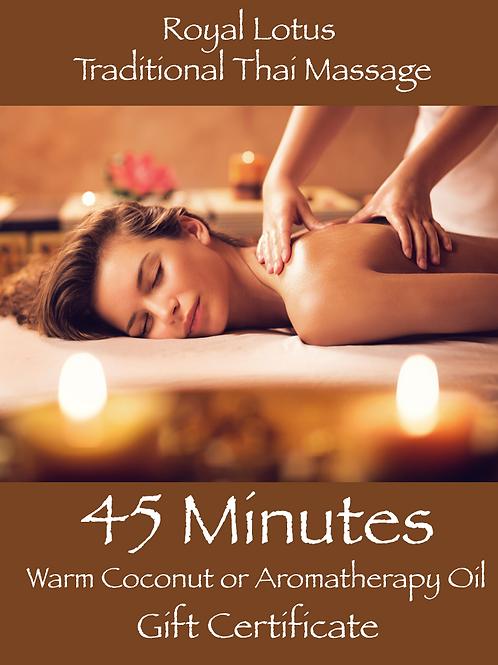 45 Min Indulgence Massage