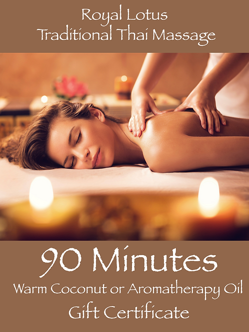 90 Min Indulgence Massage