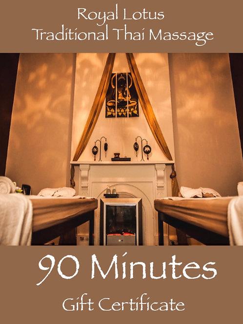 90 Min Standard Massage