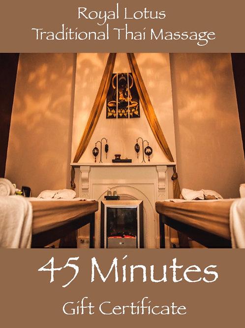 45 Min Premium Massage