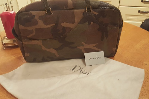 Christian Dior  CAMOUFLAGE IS ALL THE RAGE BAG