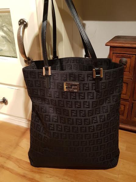 556ca9cb9ce ... order authentic fendi zucca shopper tote bag ea7f1 7e313