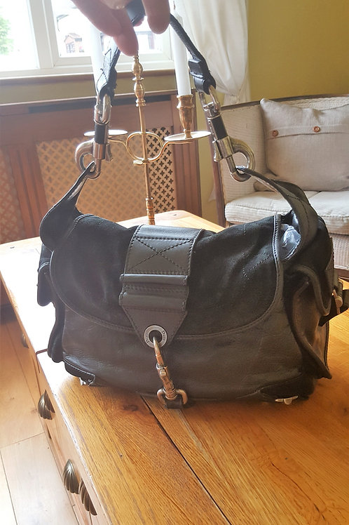 """AUTHENTIC .CHRISTIAN DIOR  """"REBELLE"""" BAG"""