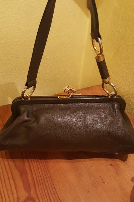 Authentic Celine  Doctor's Shoulder Bag