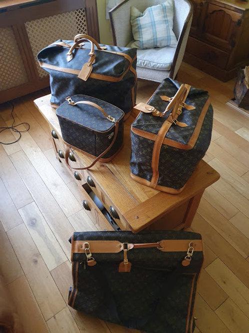 LOUIS VUITTON  Monogram Cruiser Bag  45 Boston Bag