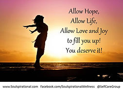 hope, life, love, joy