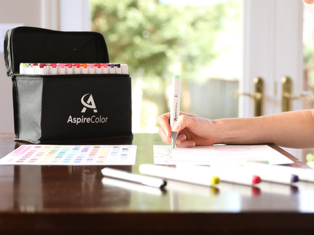 AspireColor Markers Launched!