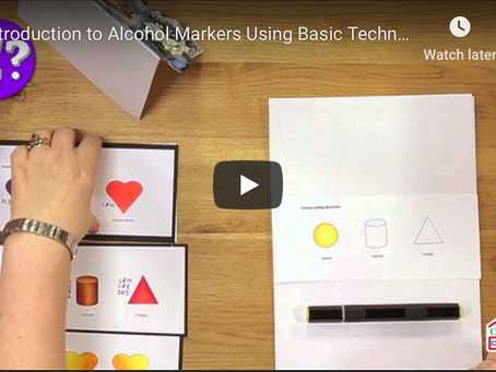 Video: Intro to Alcohol Markers Including Blending & Building Volume