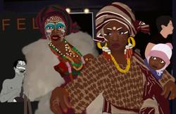 Fela's dancers