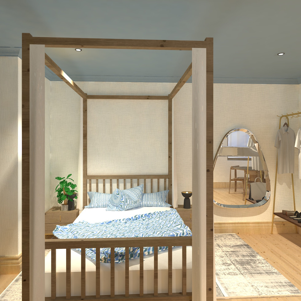 Greenford Road- Bedroom