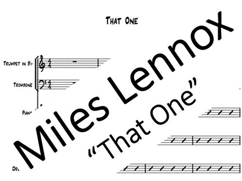 """That One"" PDF Score & Parts"