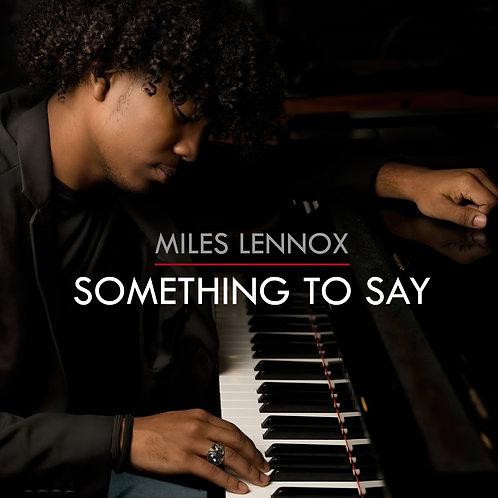 """Something To Say"" (CD)"