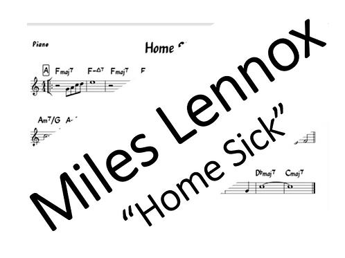 """Homesick"" - PDF Piano Part"