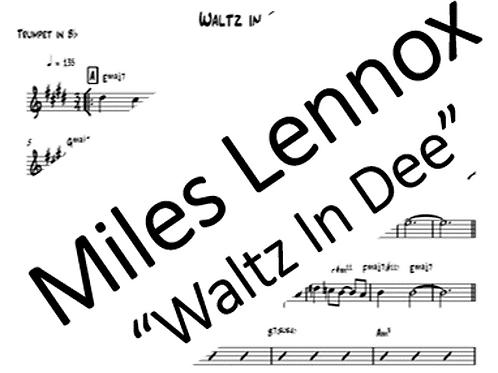 """""""Waltz in Dee"""" PDF Parts"""