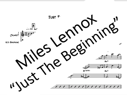 """Just The Beginning"" - PDF Full Score + Parts"