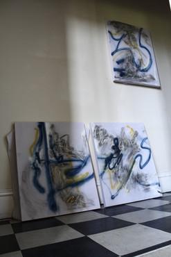 'No Place Like Home' Triptych