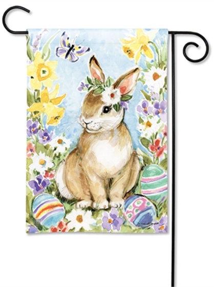 Easter Visit Garden Flag